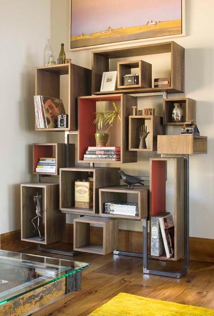 Farr Residence rustic-living-room