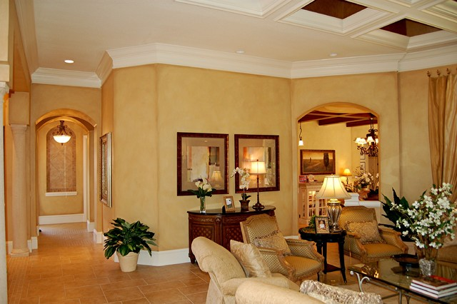 Faux Finish Mediterranean Living Room Tampa By