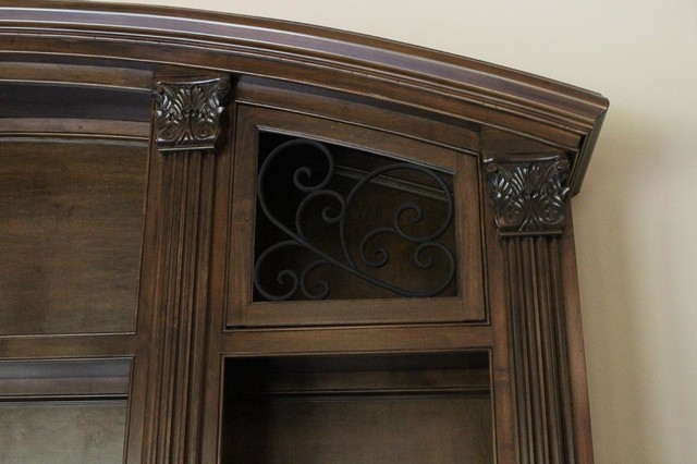 Faux Wrought Iron Cabinet Inserts
