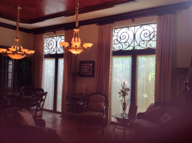 Faux Wrought Iron In Transom Parkland Golf And Country