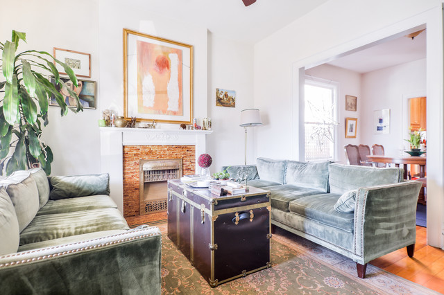 Favorite Denver Interiors eclectic-living-room