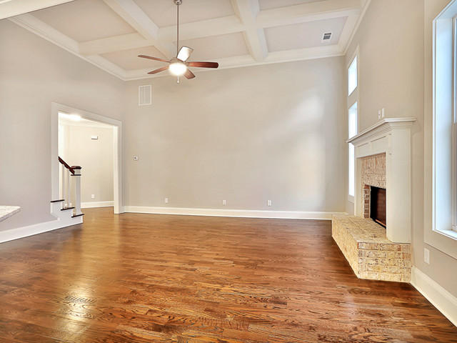 Fayetteville, GA New Construction traditional-living-room