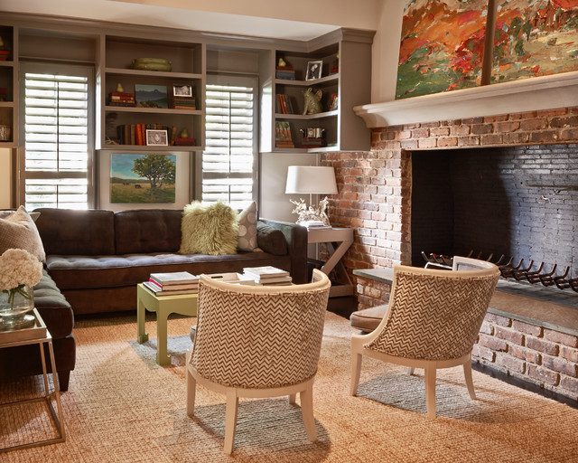 Feature Homes Modern Living Room Charlotte by Home