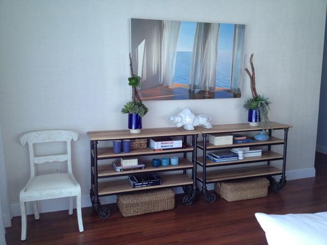 Febres residence beach style living room other metro for Living room 528 powell street