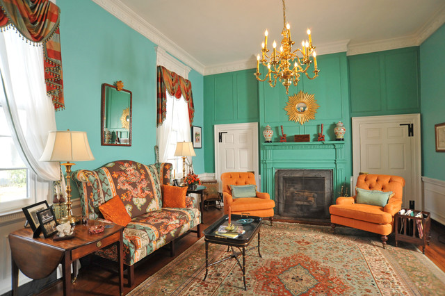 Federal Hill Fredericksburg Va Traditional Living Room Other Metro By Kathy Knack