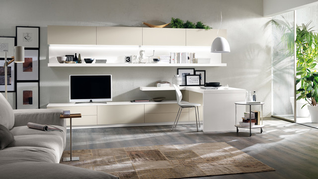 Feel U0026 Scenery   Scavolini Contemporary Living Room
