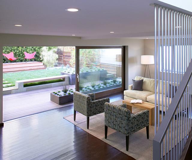 Feldman Architecture modern-living-room