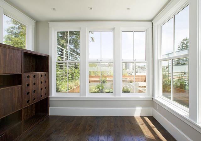 Feldman Architecture contemporary-living-room