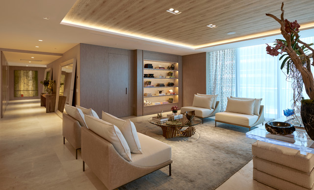 Fendi Chateau Contemporary Living Room