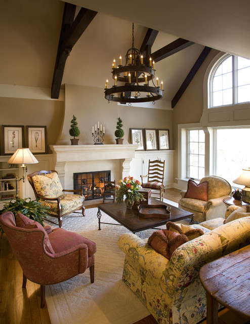 Ferndale Residence traditional-living-room