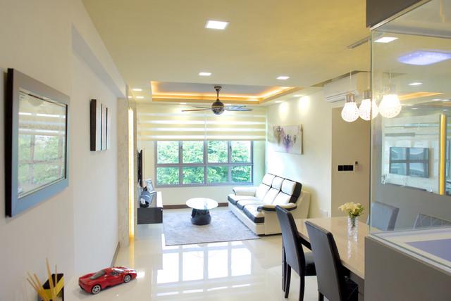 Fernvale Lane 4 Room BTO Contemporary Living
