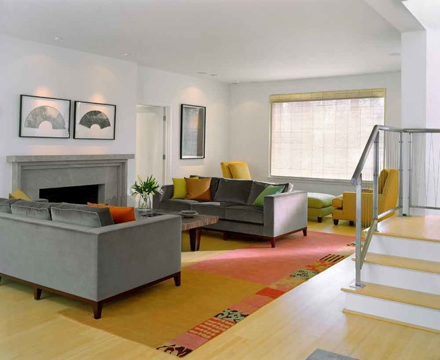 Fibercations, LLC contemporary-living-room
