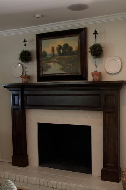 Fieldcrest Lake Highlands Traditional Living Room