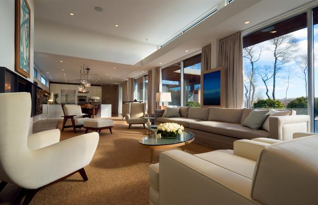 Fieldview modern-living-room