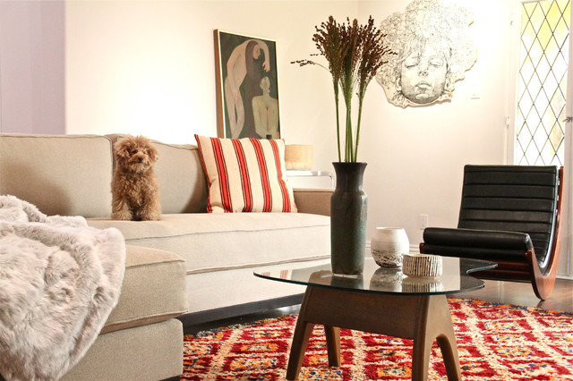 Fifth Street eclectic-living-room