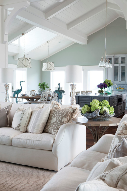 2015 best selling and most popular paint colors sherwin williams and benjamin moore - Beach style living room ...