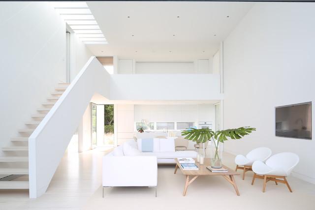 Fire Island Home modern-living-room