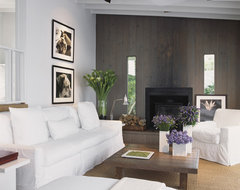 Fire Island Residence - Long Island modern-living-room