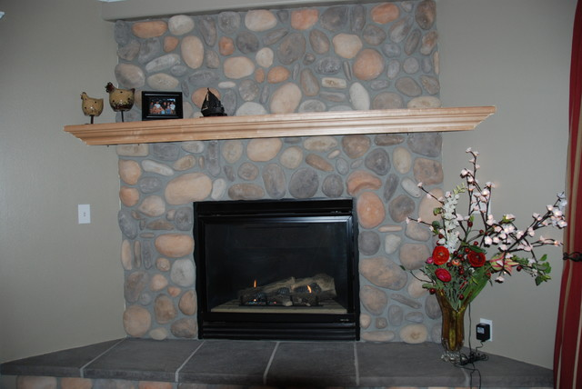 Fire Place Mantels traditional-living-room