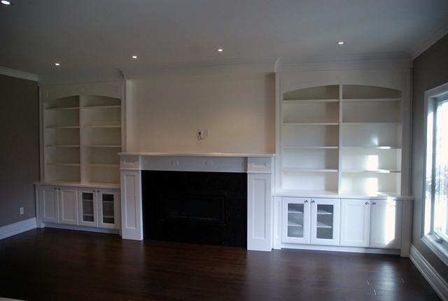 Fireplace Wall Unit 1