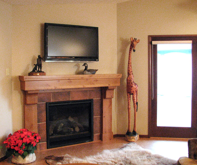 Houzz Fireplace Ideas: Fireplace Designs By Interior Dimensions