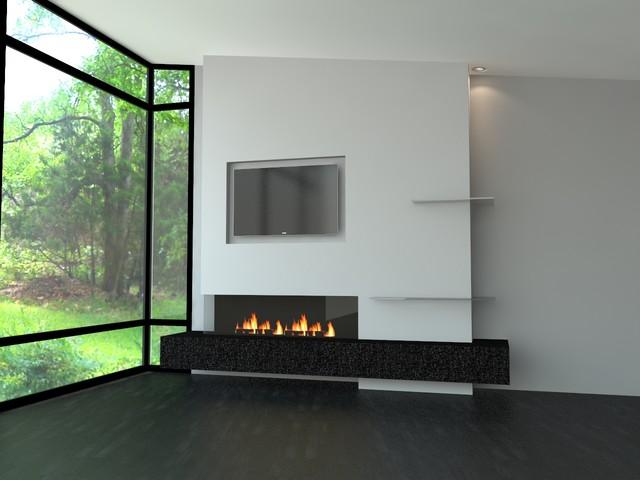Living Room Contemporary Idea In Toronto