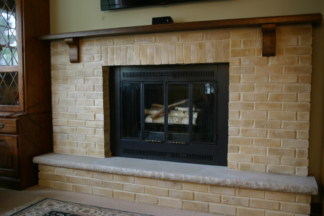 Fireplace Makeover Traditional Living Room Other By Sarah