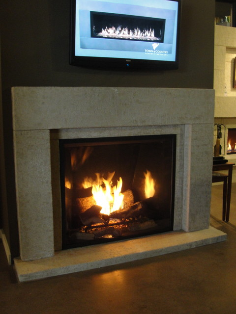 Fireplace Mantels - Contemporary - Living Room - vancouver - by ...