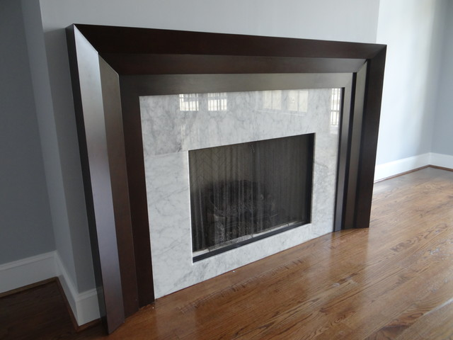fireplace mantels modern living room charlotte by