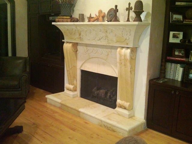 Fireplace Mantels living-room