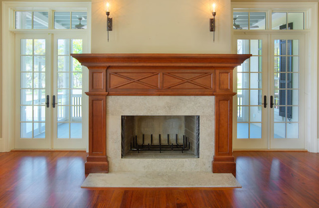 Fireplace Mantle traditional-living-room