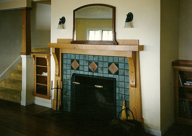 Fireplace Mantles traditional-living-room