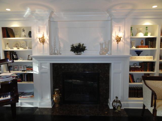 Fireplace Mantles Westport Ct Traditional Living Room