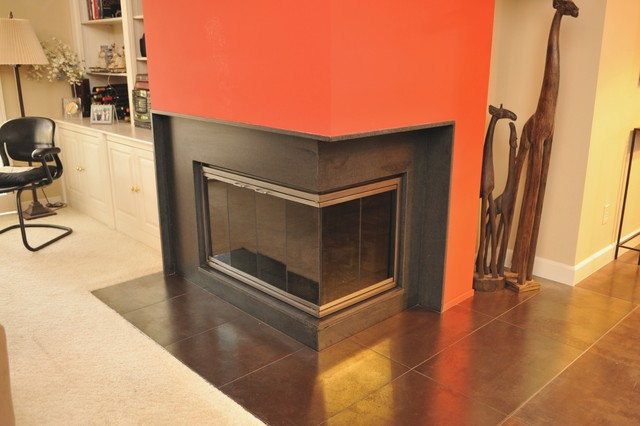FIRE PLACE contemporary-living-room