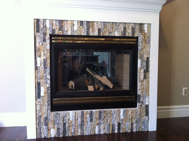 Fireplace Remodel Contemporary Living Room