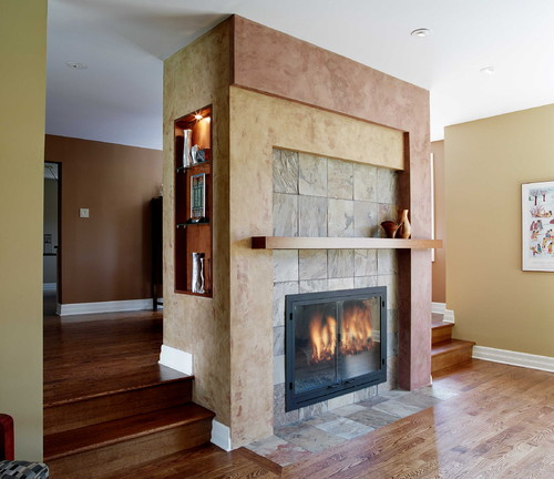 Question About Your Asymmetrical Fireplace