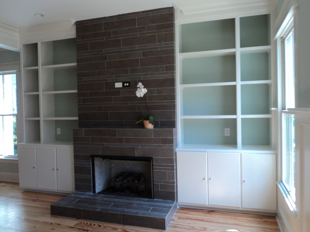 Fireplace - Contemporary - Living Room - Charleston - by Tile ...