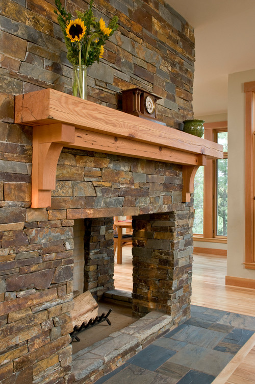 What Type Of Stone Is Used On The Fireplace