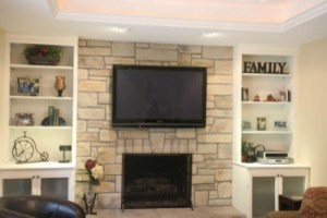 Fireplaces With Bookshelves Traditional Living Room Chicago - Fireplace with bookshelves