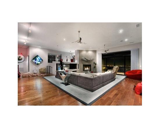 Living Room Window Treatments on Living Room Window Treatments On Firerock Custom Home 3