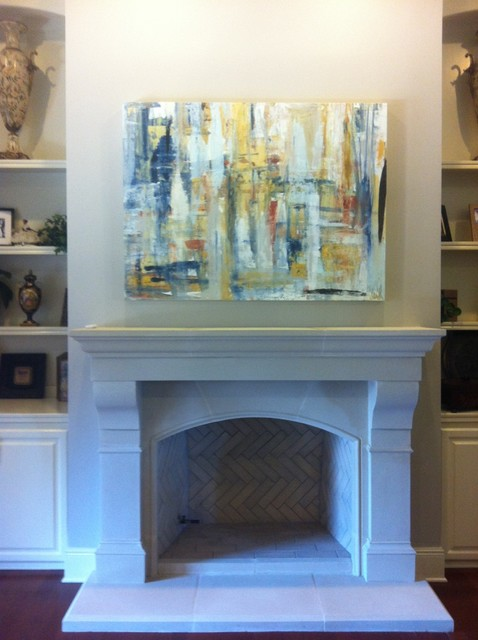 Firplace Remodels traditional-living-room