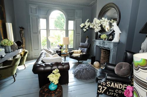 Grijs interieur inspiratie - Met grijze meubels en kamers