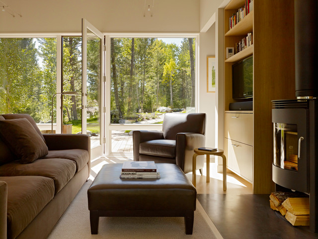 Fish Creek Compound Guest House contemporary-living-room