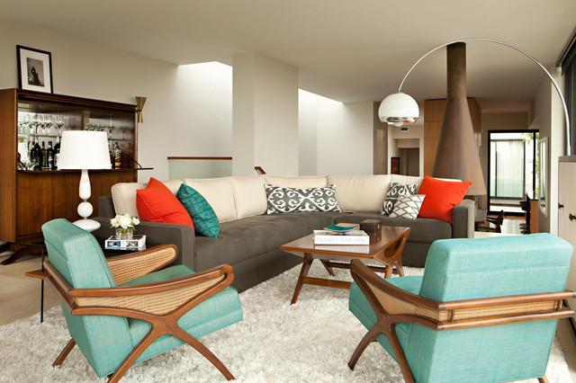 Fisher Street Residence modern-living-room