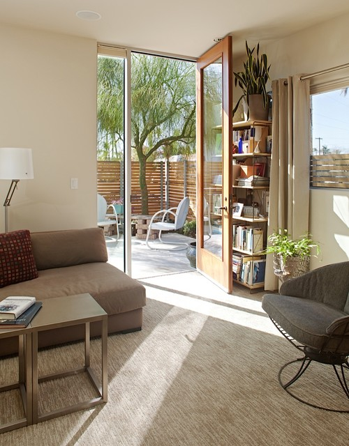 Fitzsimons-Roman Residence contemporary-living-room