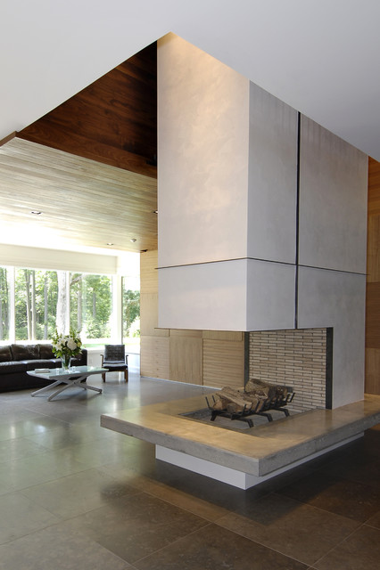 Five Star House Modern Living Room New York By