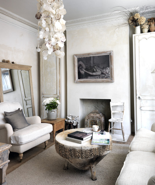 Shabby Chic Style Living Room By Ryland Peters Small