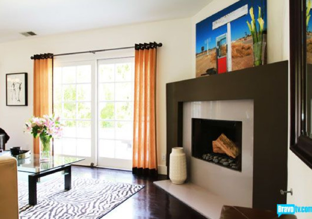 Flipping Out Jeff Lewis Design Contemporary Living Room
