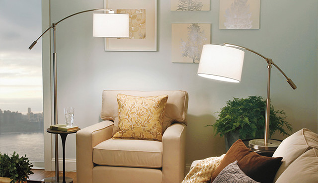 floor lamps traditional living room new york by we got lites. Black Bedroom Furniture Sets. Home Design Ideas