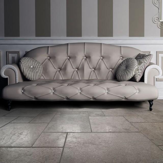 Flooring Contemporary Living Room